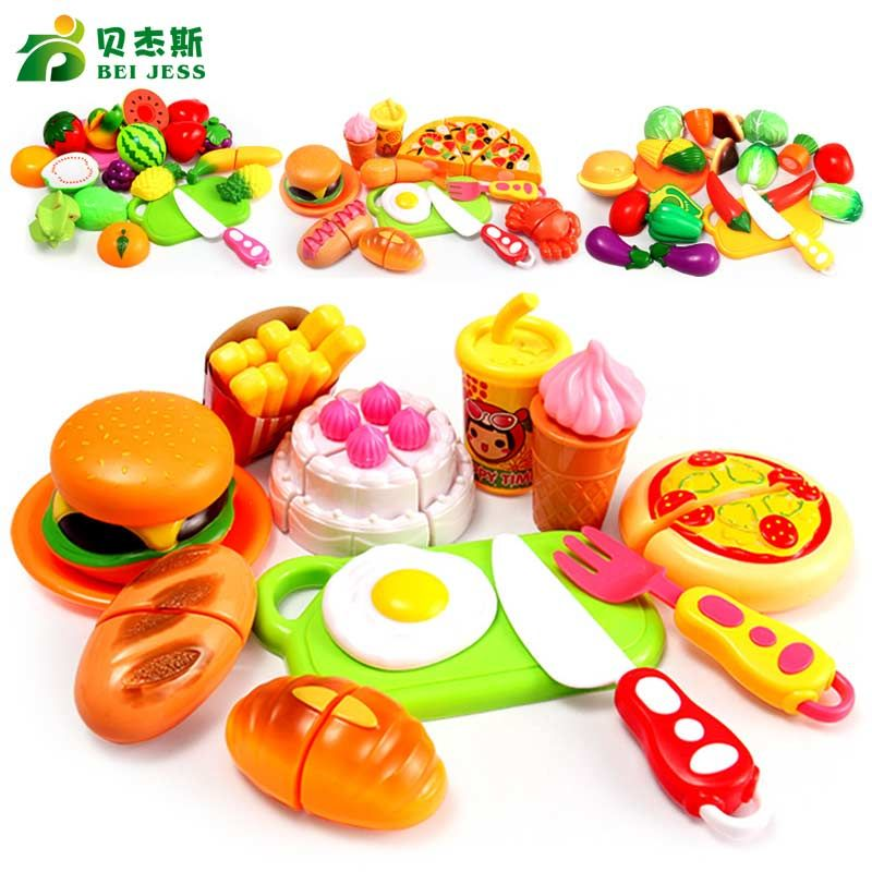 Bei Jess 13pcs Set Kitchen Mini Food Cake Pizza Vegetable Fruit