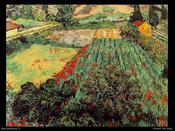 Pinturas De Van Gogh Por Niceas Romeo Zanchett Arte Van Gogh Pintura De Papoulas Van Gogh Pinturas