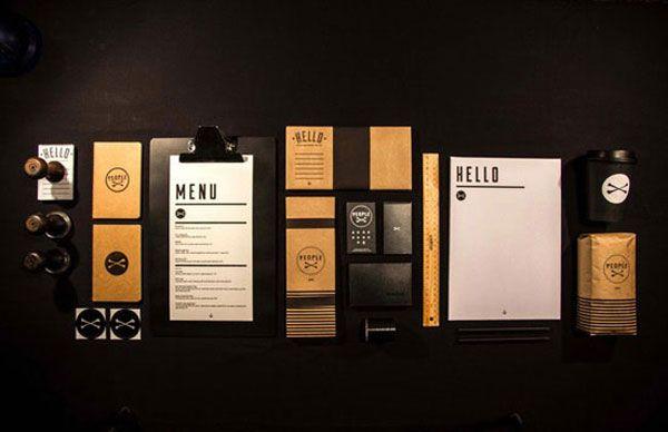 Restaurant Menu Cafe Design Branding Gastronomic