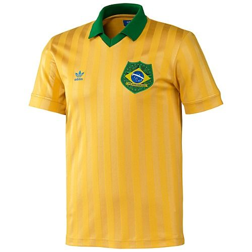 Retro Shirt Brazuca JerseyStyle Brazil Adidas NPkX80wOn