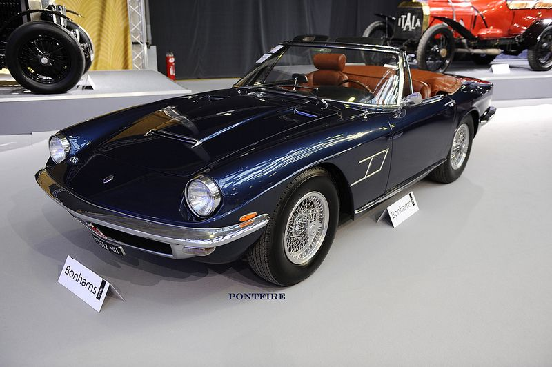 1966 Maserati mistral 4000 spyder Frua (met afbeeldingen)