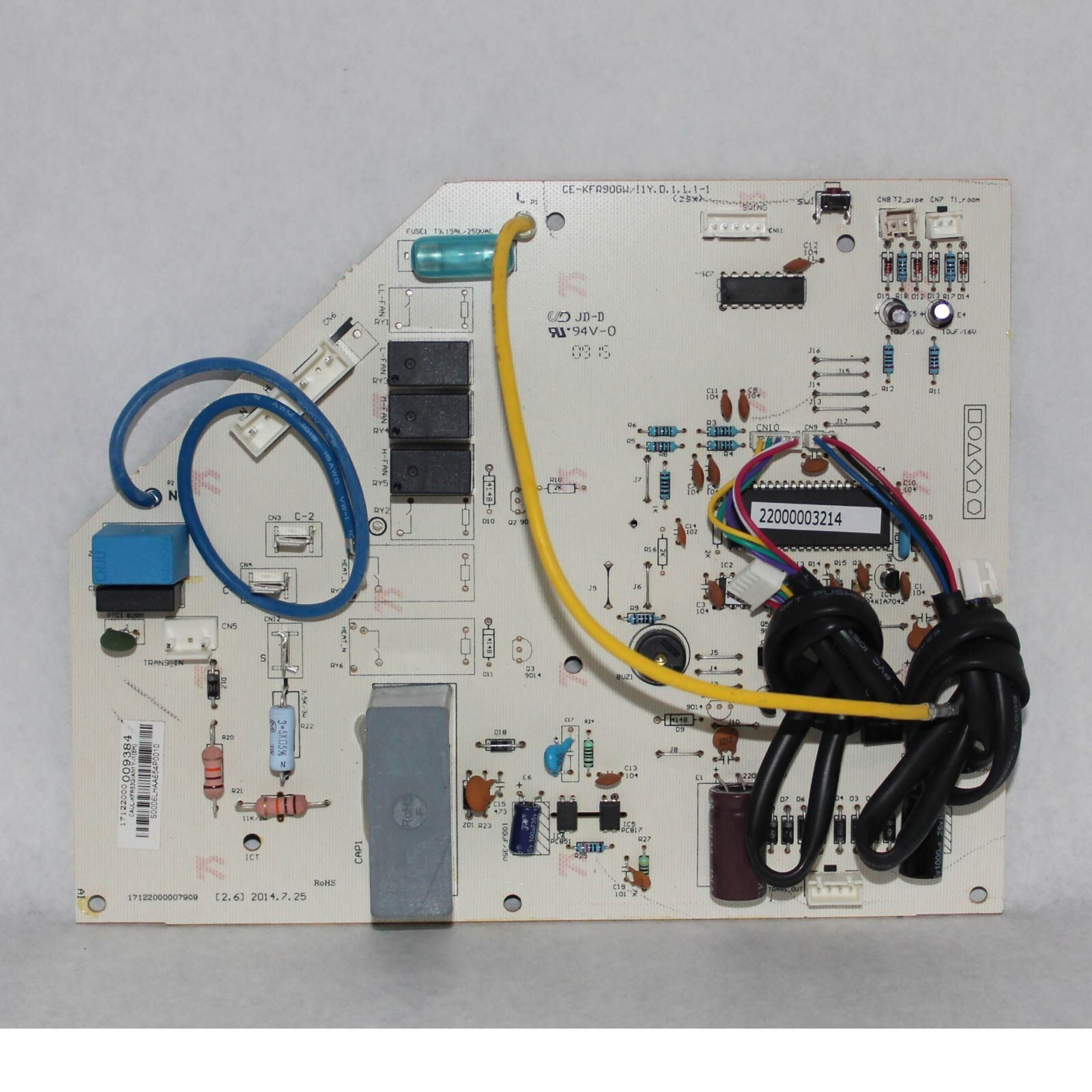 Factory Authorized Parts 17122000009384 Main Control Circuit Board In 2020 Circuit Board Circuit Maine