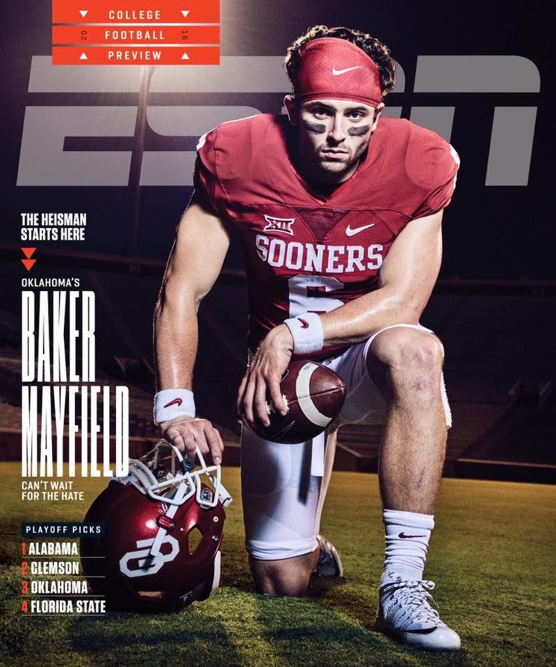 Baker Mayfield on Cover of ESPN Magazine https//www