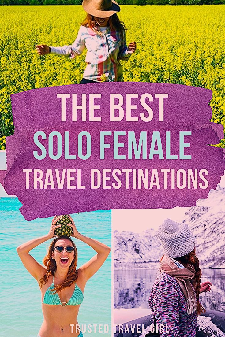 Photo of The Best Solo Female Travel Destinations