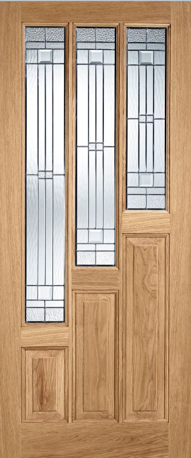 External Door Oak Coventry With Zinc Lead Double Glazed External Oak Doors Glazed External Doors Oak Exterior Doors
