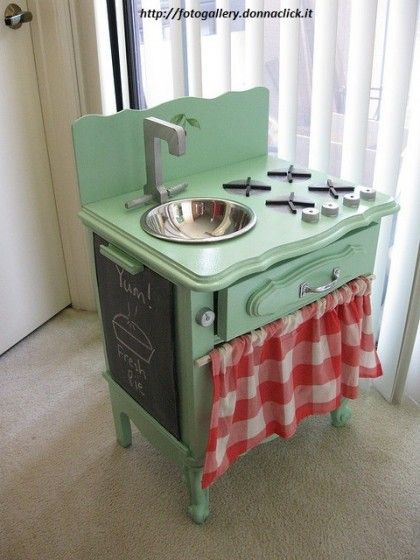 Come costruire una cucina in legno per bambini | Mobili ...