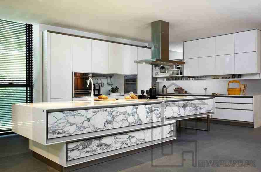 Beautiful Italian Kitchen Design In Pakistan