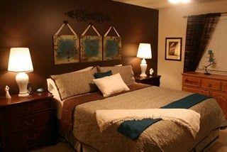 brown and teal   Master Bedroom   Teal rooms, Teal brown ...