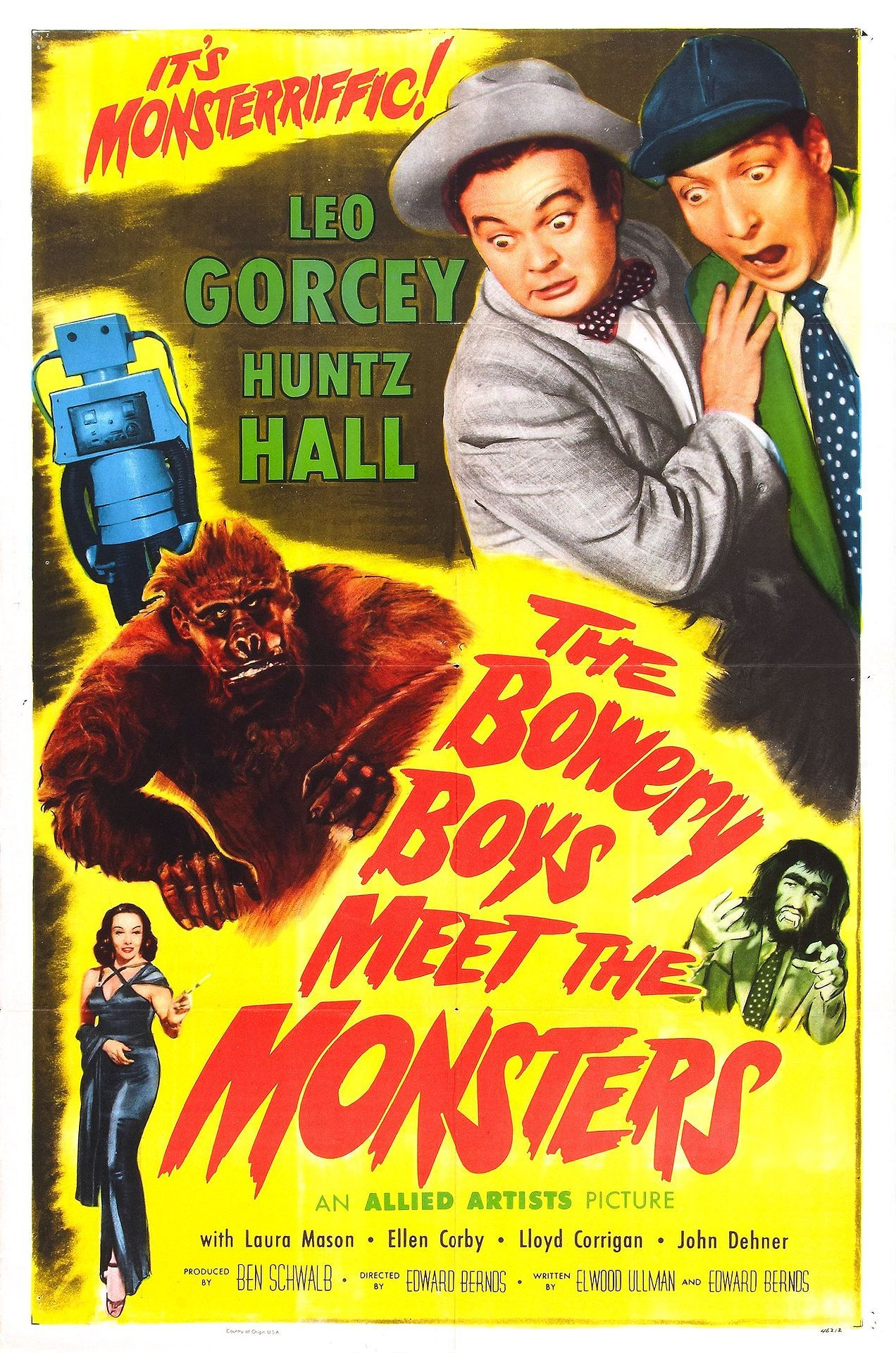 Download The Bowery Boys Meet the Monsters Full-Movie Free