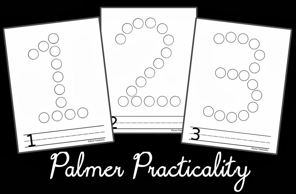More Free Do A Dot Printables