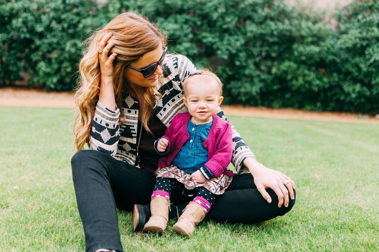 Modern Eve mom baby mother child street style fashion blog