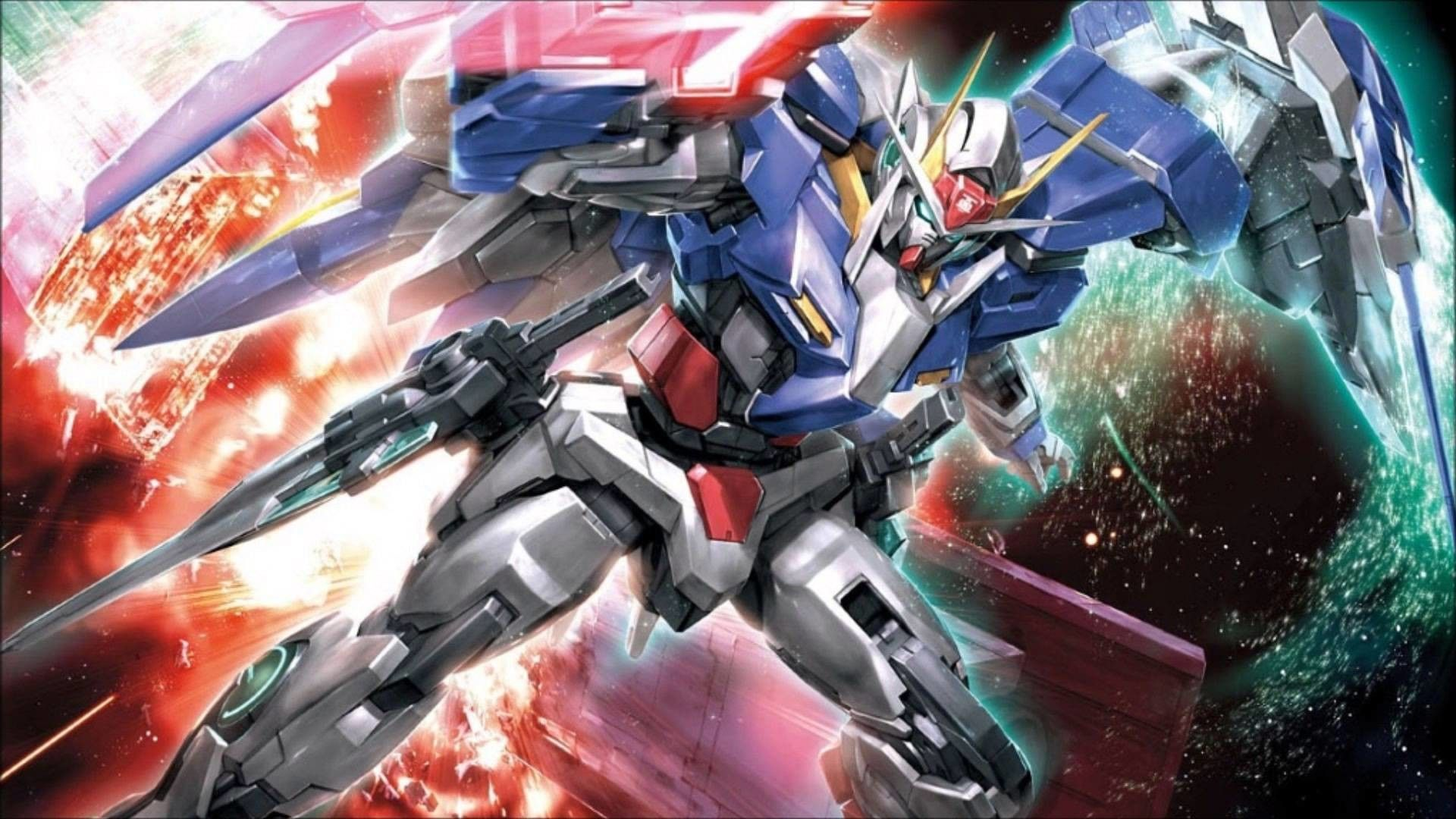 1920x1080 Images For Gundam 00 Raiser Wallpaper Gundam 00 Gundam Wallpapers Gundam Gundam exia wallpaper 4k