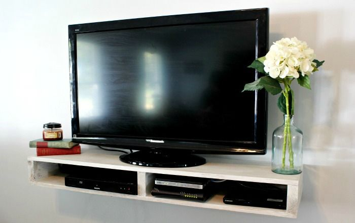 How To Build A Floating Tv Shelf Floating Tv Shelf Tv Shelf