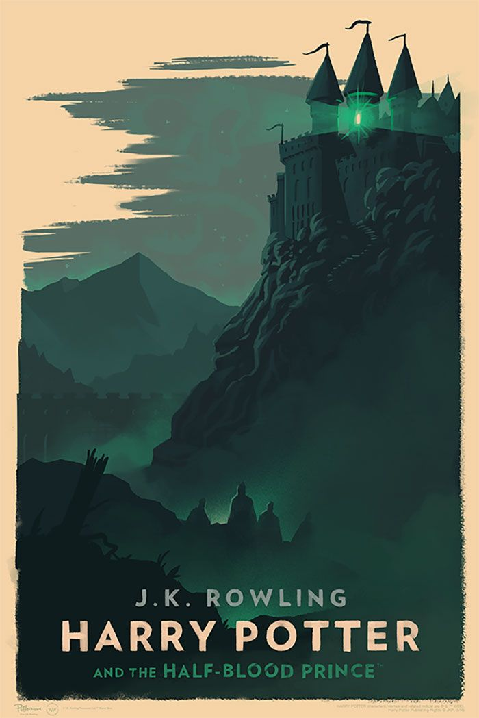 Image result for mondo half-blood prince poster