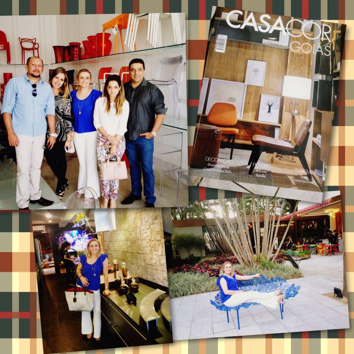 Visita a CasaCor Goiás 2015-{Gyn -Go}