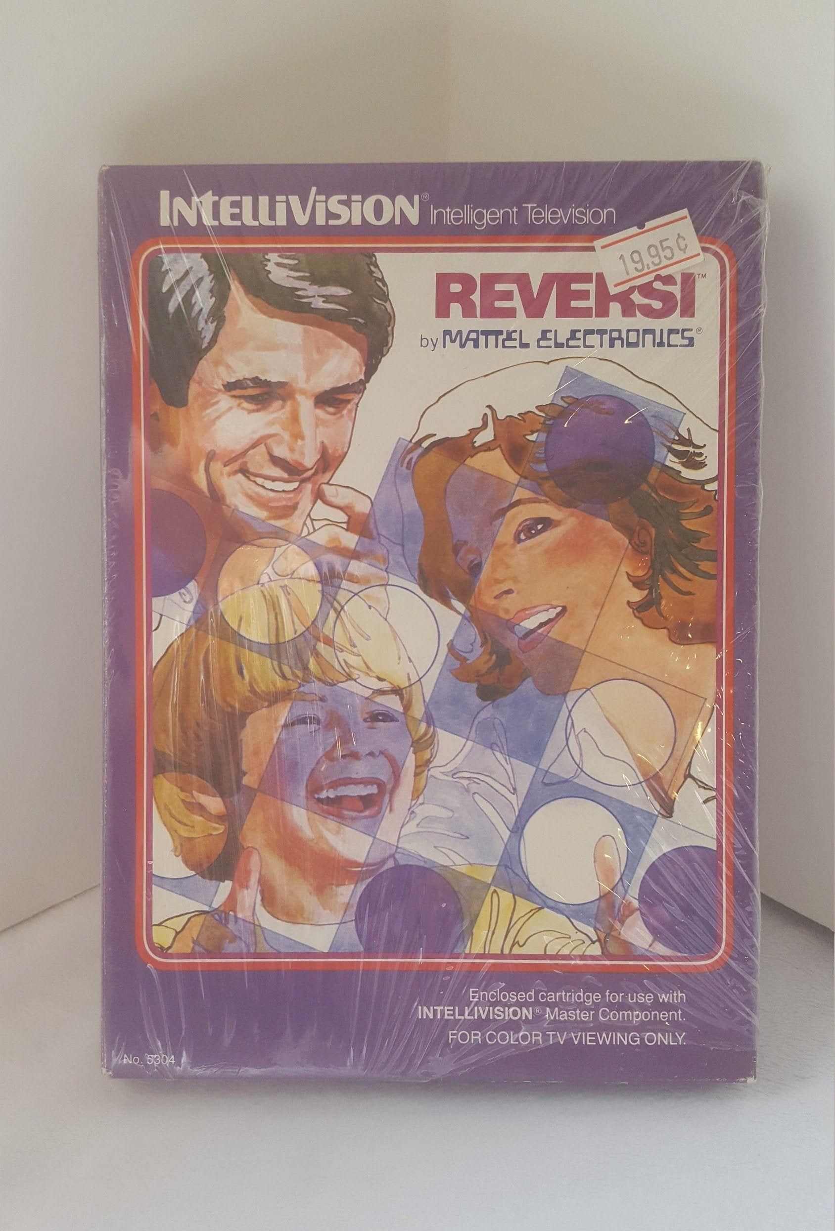 Vintage Intellivision REVERSI by Mattel Video Game