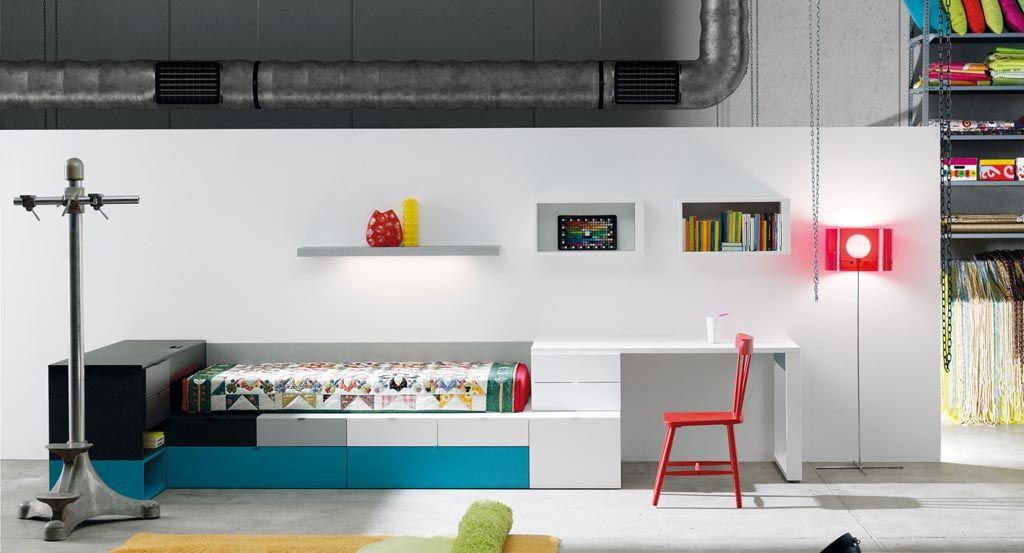 Dormitorio juvenil estilo minimalista para dormitorios - Dormitorios juveniles minimalistas ...