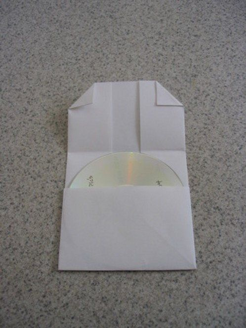 How to Make a Folded-Paper CD Case
