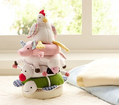 Fun On The Farm Stacker Pottery Barn Kids Toddler Gifts