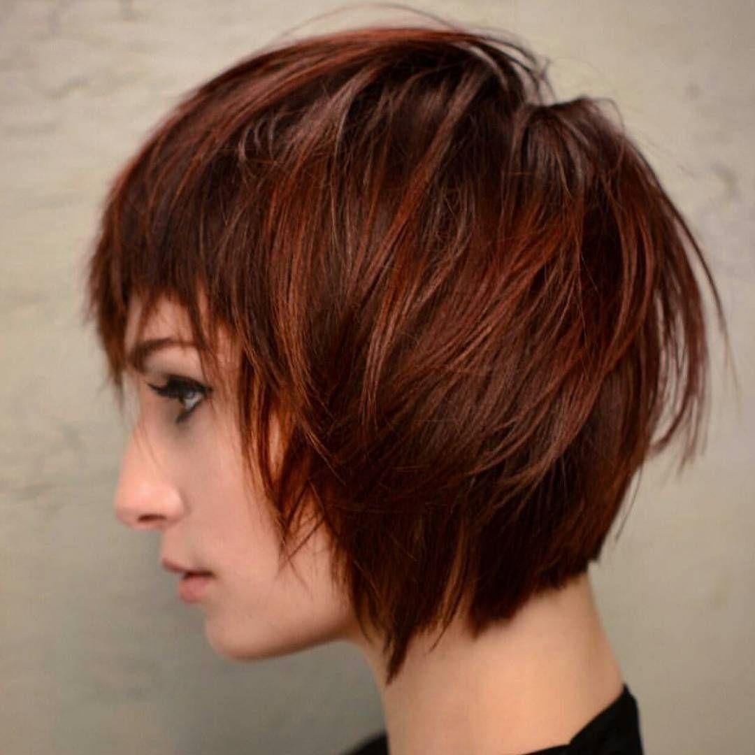 Frisuren fur kurzes dickes haar