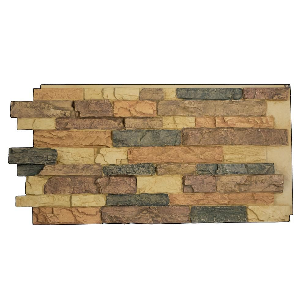 Superior Building Supplies Snodonia Faux Stone Panel 1-1/4 ...