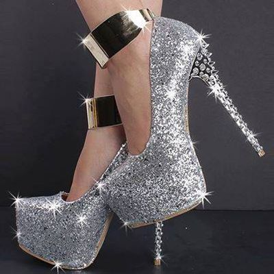 New Fashion Trendy Shoes Of High Heels