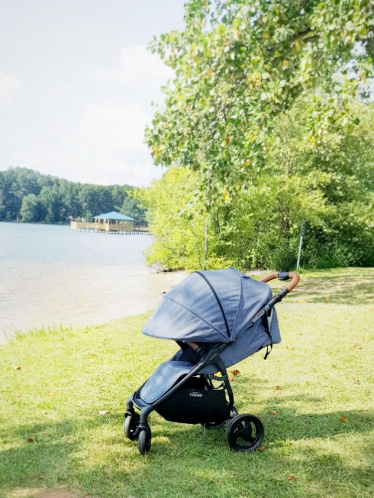 Lazy lake days snap4 trend by valco baby baby