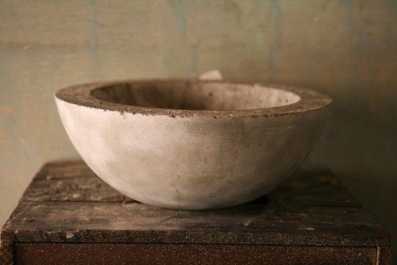concrete bowl #diy #craft