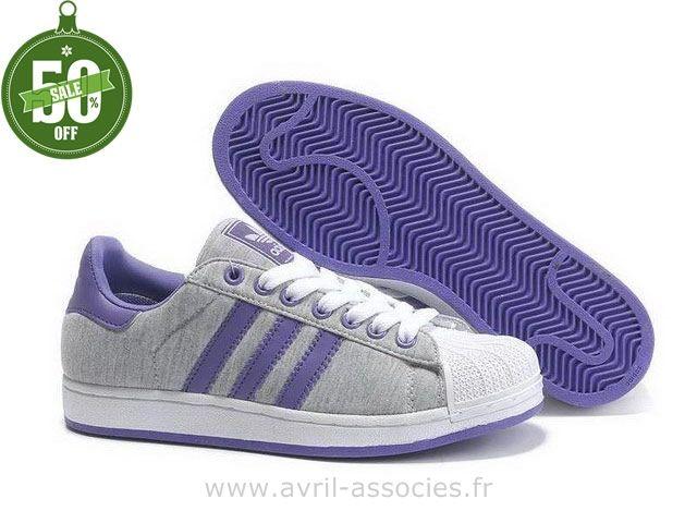 huge selection of 6c299 27a36 Officiel Adidas 2016 - Adidas Superstar 2 Chaussures D´amoureux Pourpre ( Chaussure De Foot Adidas Pas Cher)