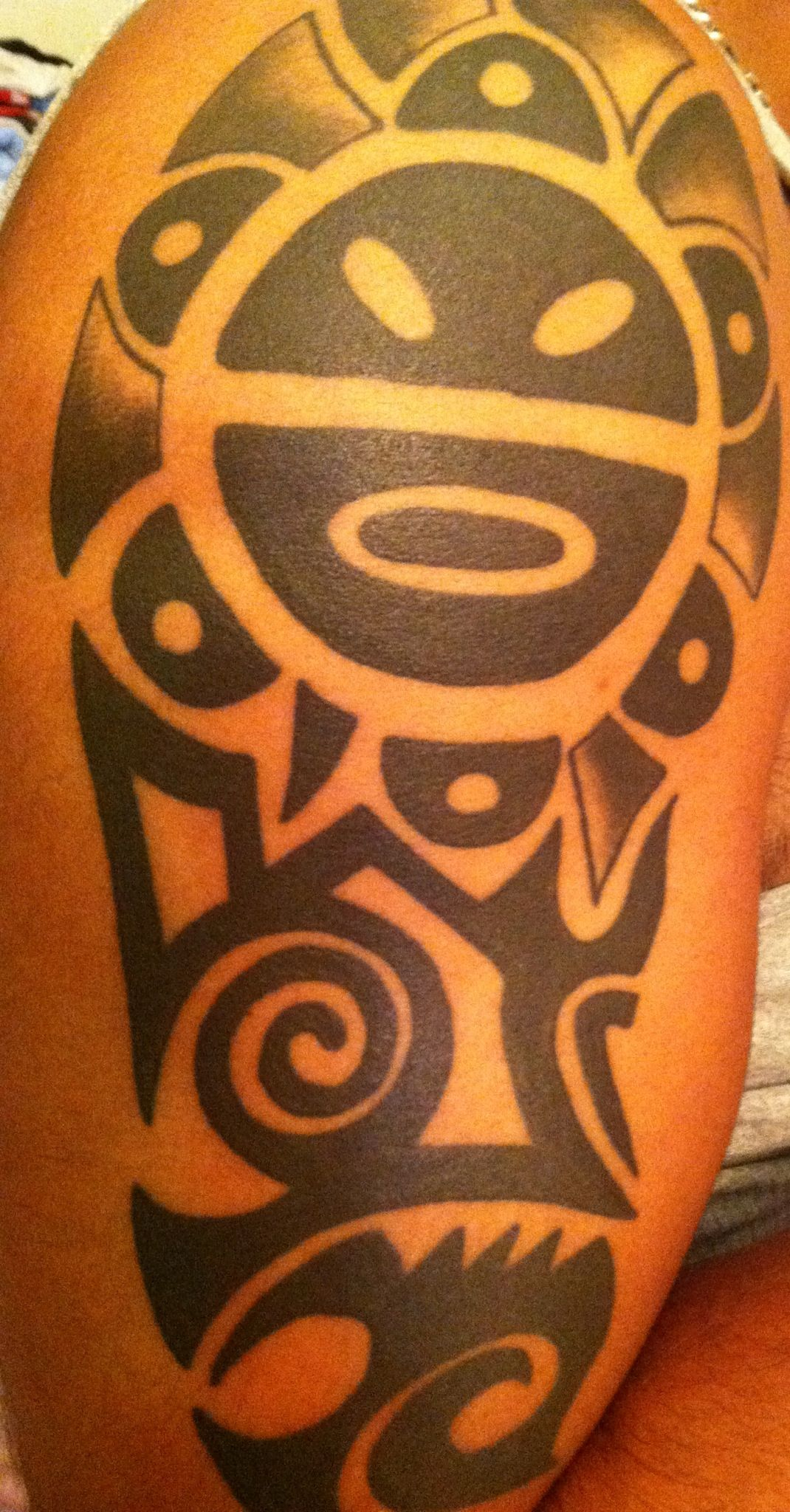 Taino indian tattoos the timeless style of native american art sol taino tattoo sol taino tattoo puertorico buycottarizona Image collections