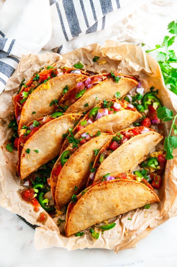 Photo of Cheesy Potato Tacos (Tacos de Papa) – Aberdeen's Kitchen