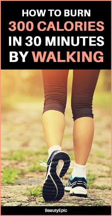 Burn 200 Calories in 30 Minutes by Walking! | Walking ...