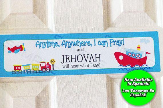 JW kids,Jehovah's Friend,Kids Door Sign,JW Door Sign,JW Stuff