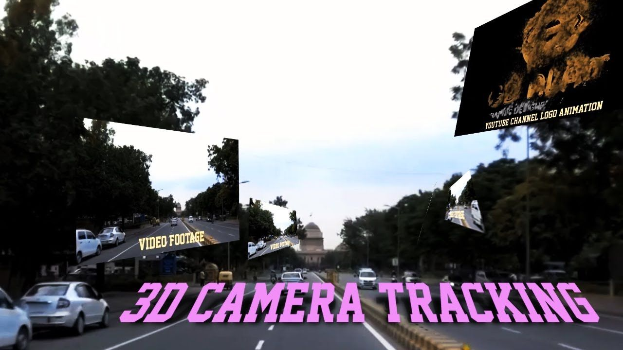 3d Motion Tracking After Effects After Effects Camera Tracker