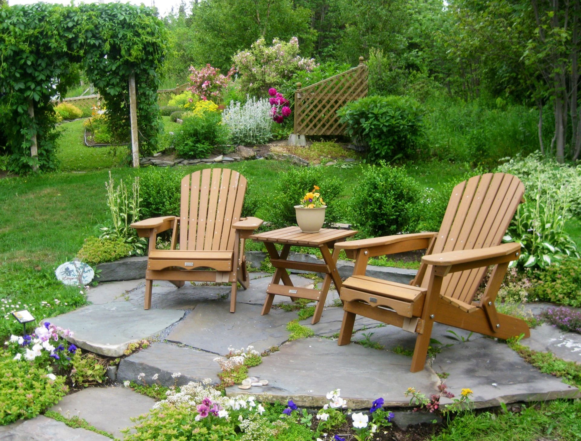 10 Garden Seating Area Ideas, Stylish and Gorgeous ... on Zen Front Yard Ideas id=32827