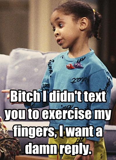 Text Me Back Meme : Funny