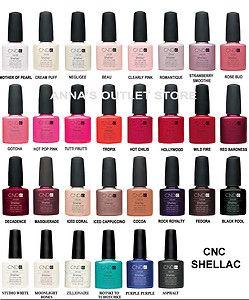 CND Shellac UV Nail Polish 3 Colors YOU Choose | eBay