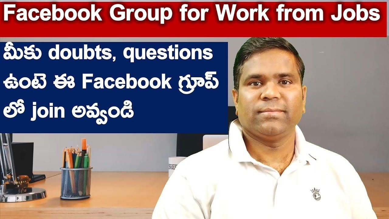 Facebook group for work from home jobs h1b visa life in