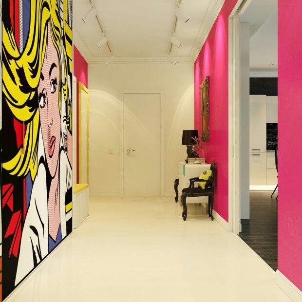 Lichenstein style wall art | HOME DECORATING | Pinterest | Walls ...