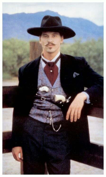 Val Kilmer As Doc Holliday Val Kilmer Pinterest