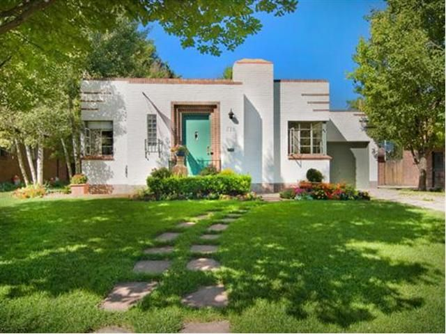 Art Deco Homes | 1940\'s Art Deco Home For Sale in Denver | 5280mod ...