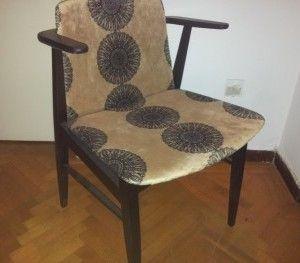 Danish lounge chair.