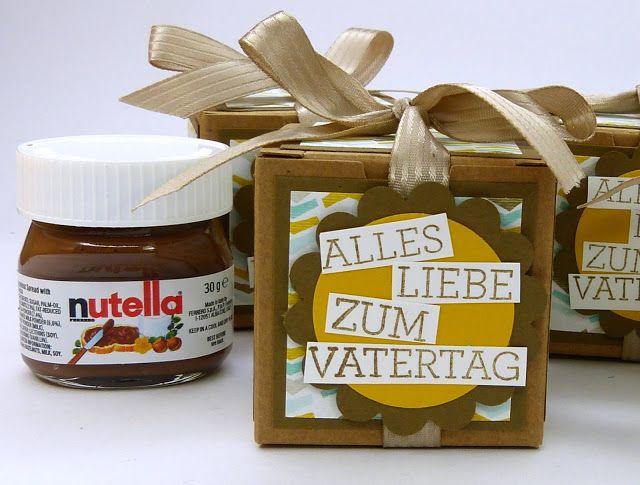 stempelitis kleines geschenk zum vatertag nutella. Black Bedroom Furniture Sets. Home Design Ideas