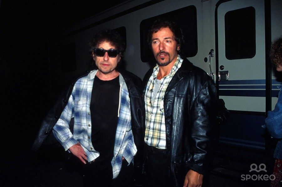 Bob Dylan and Bruce