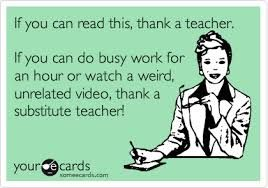 Image result for substitute teacher memes