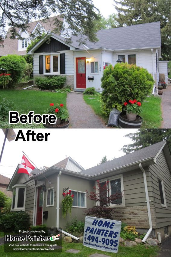 Hoe Painters Toronto Did The Aluminum Siding Painting For