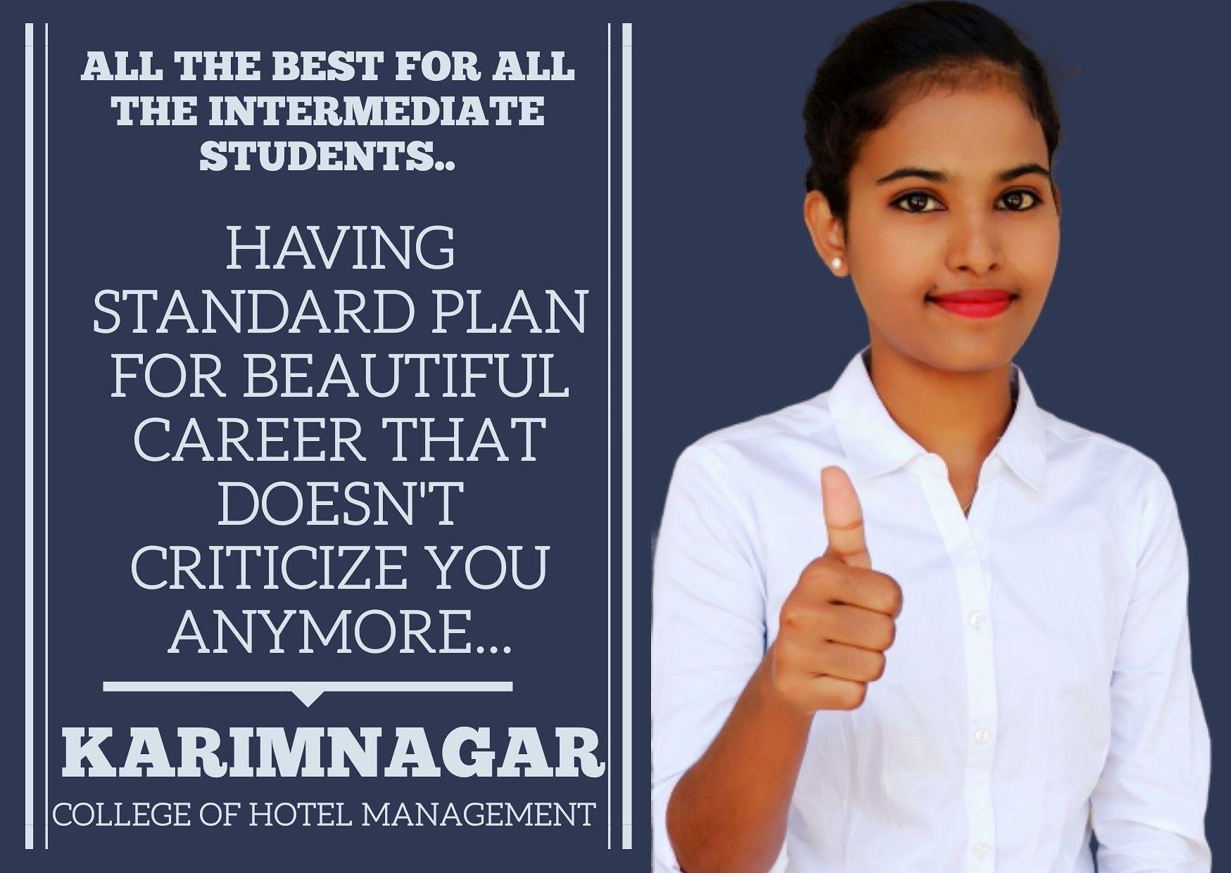Pin On Karimnagar College Of Hotel Management