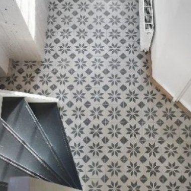 tegelvloer badkamer patroon - Google zoeken | Badkamer | Pinterest