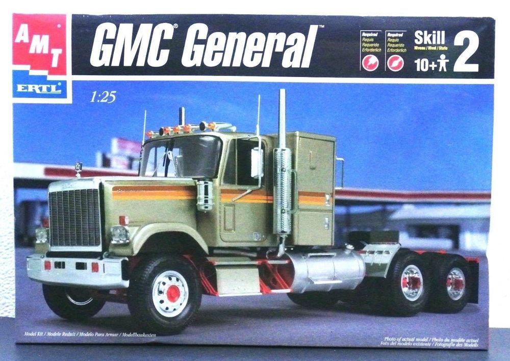AMT ERTL 30060 GMC General Semi Cab Truck 1/25 Scale