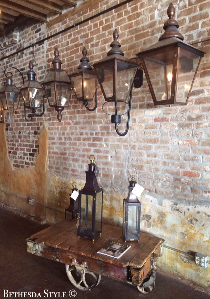 Bethesdastyle Bevolo Gas Lantern New Orleans Gas Lanterns Exterior Light Fixtures French Front Doors